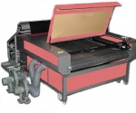 LF1610 fabric laser cutting machine